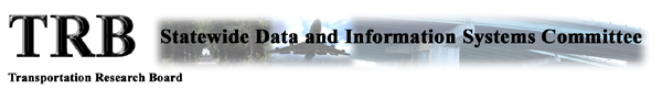 TRB Statewide Data and Information Systems Committee